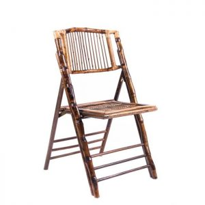 Bamboo Folding Chair Rental