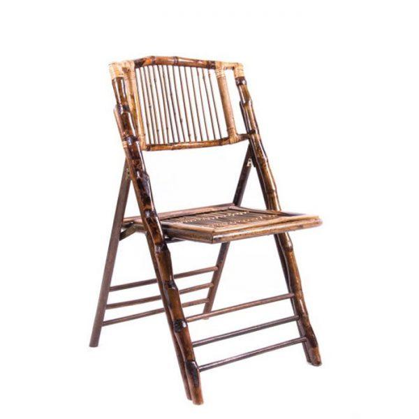Bamboo Folding Chair Rental