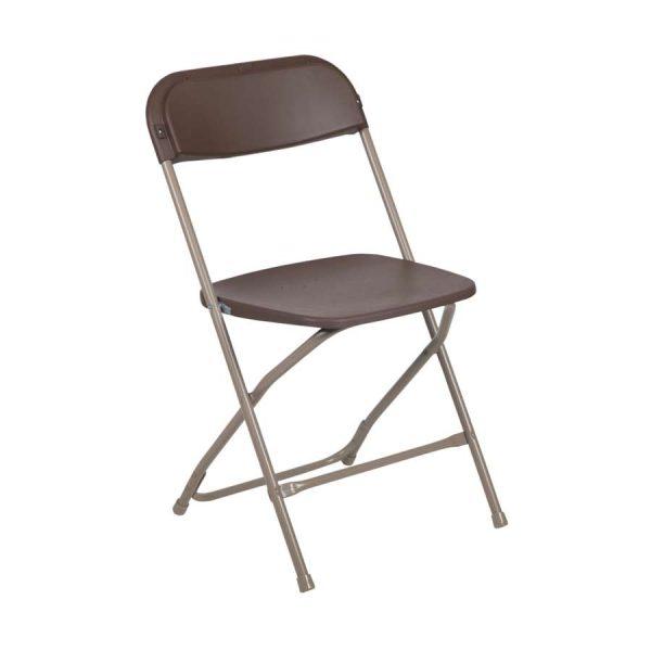 Brown Folding Chair Rental