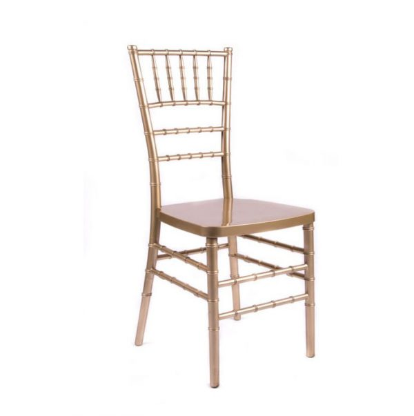 Gold Chaivari Chair Rental