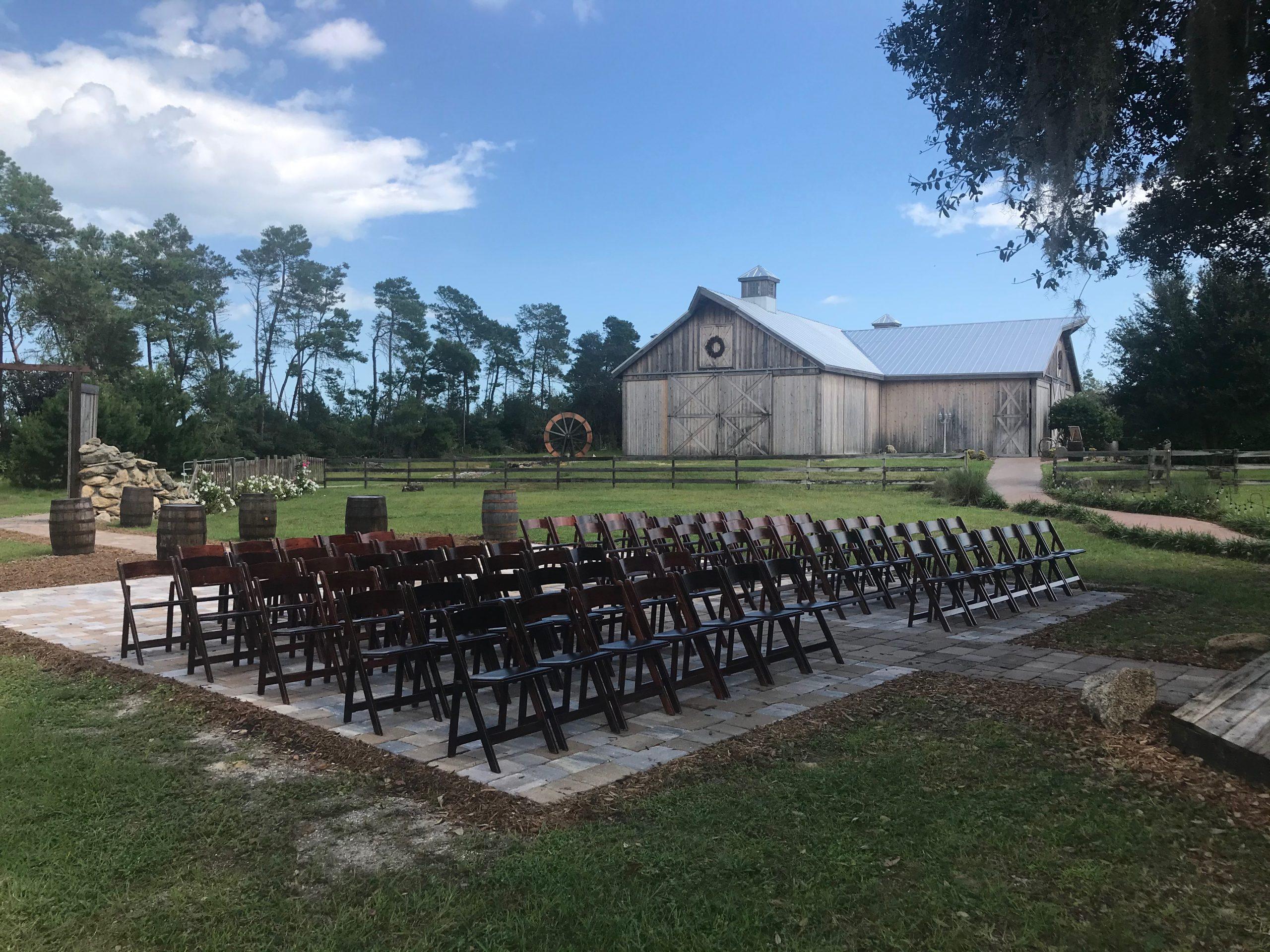 mahogany chair rentals