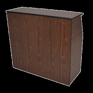 wood folding bar